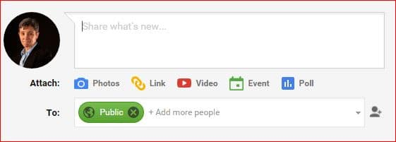 how to create a blog with google plus