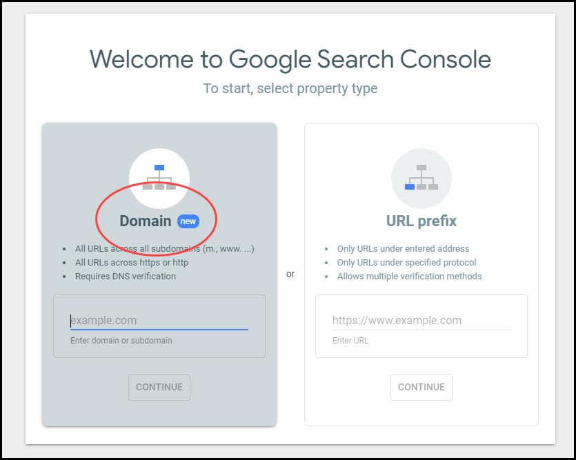google search console website improvements