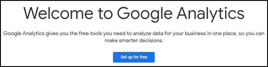 website improvements w/Google Analytics